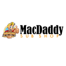 MacDaddy Sub Shop Menu