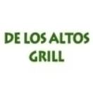 De Los Altos Grill Menu