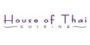 House of Thai Cuisine Menu