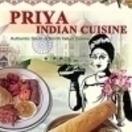 Priya Indian Cuisine Menu