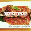 Thailand Cafe Menu