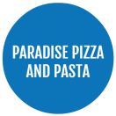 Paradise Pizza and Pasta Menu