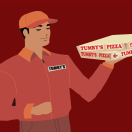 Tumbys Pizza Menu