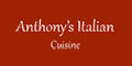 Anthony's Italian Cuisine Menu