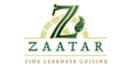 Zaatar Menu