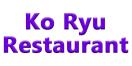 Ko Ryu Restaurant Menu