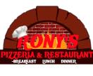 Rony's Pizzeria & Restaurant Menu