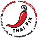 Thai Fix Menu
