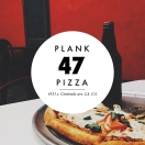 Plank 47 Pizza Menu