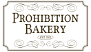 Prohibition Bakery Menu