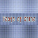 Taste of China Menu
