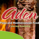 Aden Pizza Menu