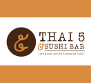 Thai 5 and Sushi Bar Menu
