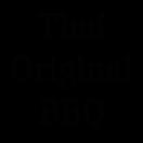 Thai Original BBQ Menu