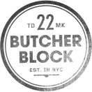 Butcher Block Menu