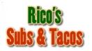 Rico's Subs Pizzas & Tacos Menu