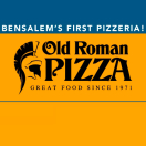 Old Roman Style Pizza Menu