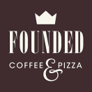 Founded Coffee and Pizza Menu