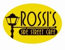Rossi's Side Street Cafe Menu