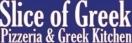 Slice of Greek Menu