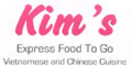 Kim's Food to Go Menu