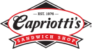 Capriotti's Sandwich Shop Menu