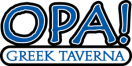 Opa! Greek Taverna Menu