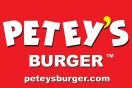 Petey's Burger Menu