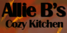 Allie B's Cozy Kitchen Menu