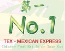 No. 1 Tex-Mexican Express Menu
