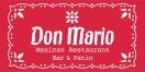 Don Mario Mexican Restaurant Menu