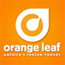 Orange Leaf Frozen Yogurt Menu