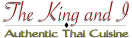 King and I Restaurant Menu