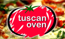 Tuscan Oven Pizza & Cafe Menu