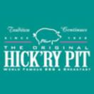 The Original Hick'ry Pit Menu