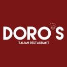 Doro's Italian Restaurant Menu