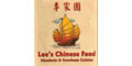 Lee's Chinese Food Menu