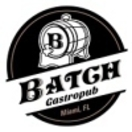 Batch Gastropub Menu