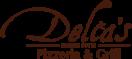 Delia's Pizzeria and Grill Menu