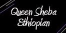 Queen Sheba Ethiopian Menu