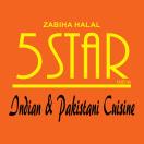 5 Star India Menu