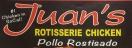 Juan's Rotisserie Chicken Menu