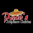 Paco's Mexican Cuisine Menu