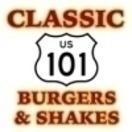Classic 101 Burgers & Shakes Menu
