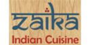 ZAIKA Indian Cuisine Menu