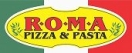 Roma Pizza and Pasta Menu