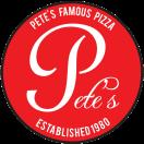 Pete's Famous Pizza Restaurant Menu