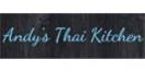 Andy's Thai Kitchen Menu