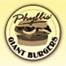 Phyllis' Giant Burgers Menu