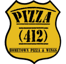 Pizza 412 Menu